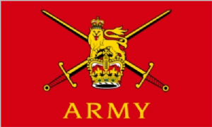 British Army Large Flag - 5' x 3'.
